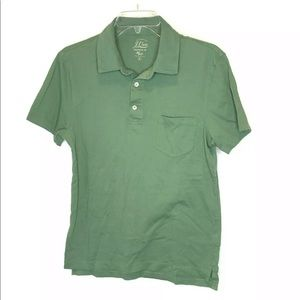 J.Crew Broken-In Authentic Knit Goods Polo Shirt